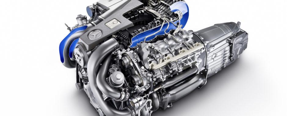 Mercedes M157 Engine