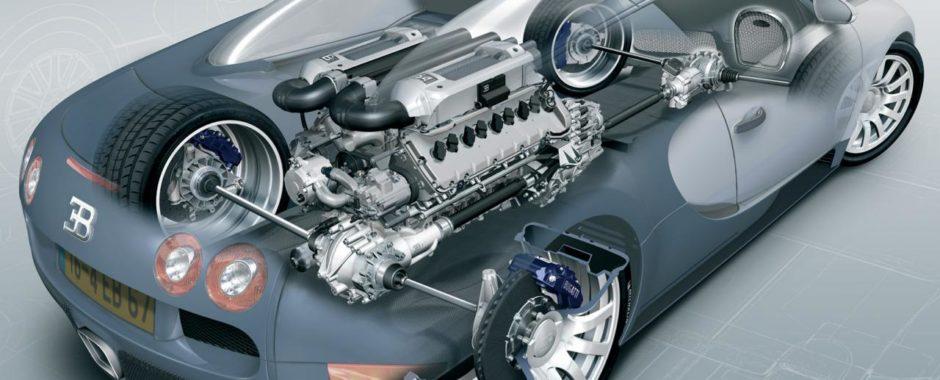 Bugatti Veyronin